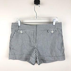 ABS Platinum white Linen Blend Shorts Size 8